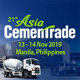 21th Asia CemenTrade Summit 13-14 Nov, 2019 in Manilla, Philippines